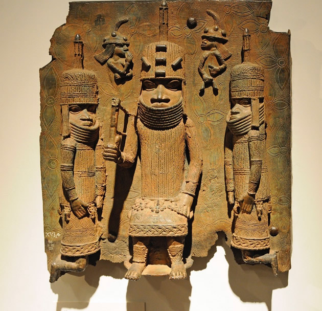 Benin bronze at British Museum