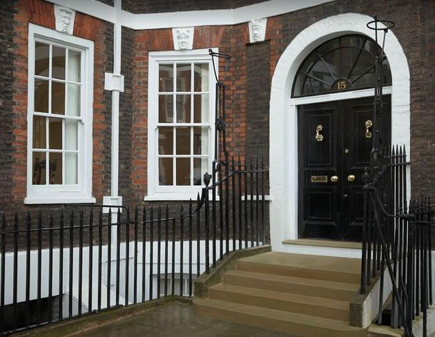 H Blairman Queen Anne Gate Entrance