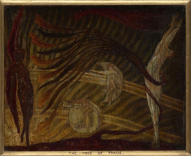 Herbert Horne The Tree of Praise Painting