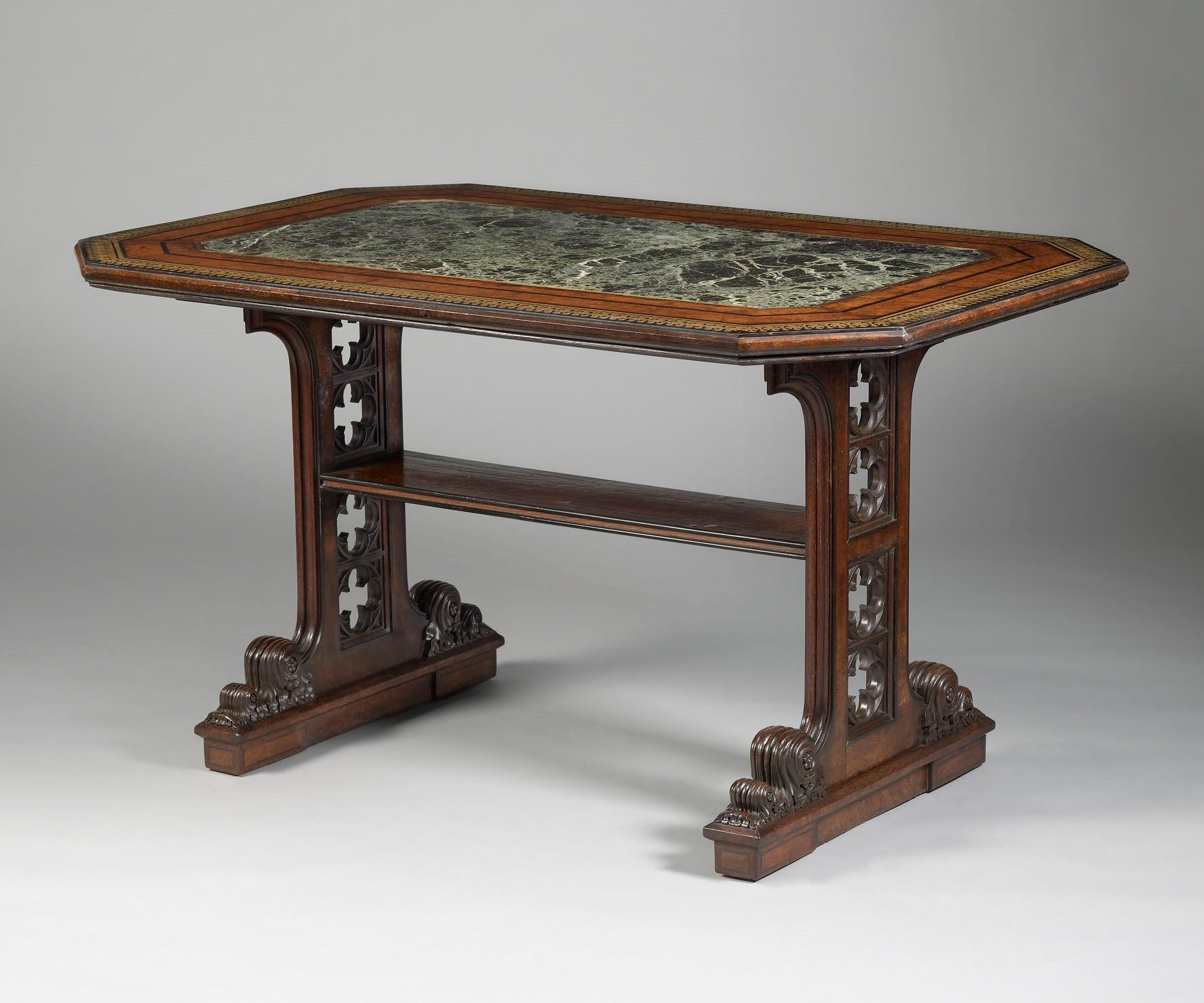 George Bullock Table, circa 1818 probably 'Finished Stock' sale, Christie's, 3-5 May 1819, day 2, lot 45 (private collection)