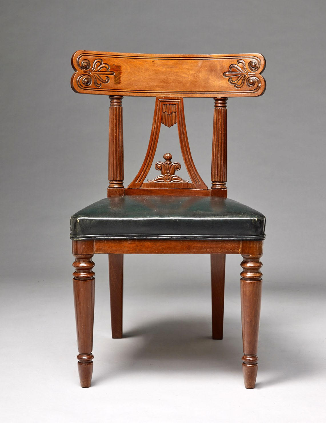 George Bullock One from a set of four side chairs, circa 1815, formerly in the collection of Sir James Stirling (private collection)