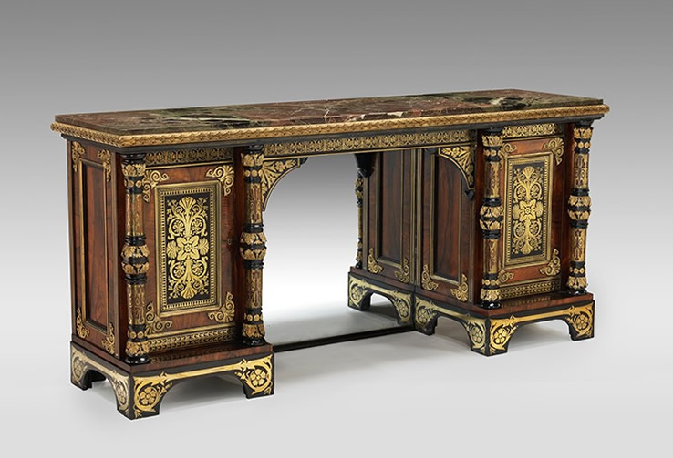 George Bullock Cabinet, circa 1815, formerly in the collection of Helena and John Hayward (Nelson-Atkins Museum of Art, Kansas City)