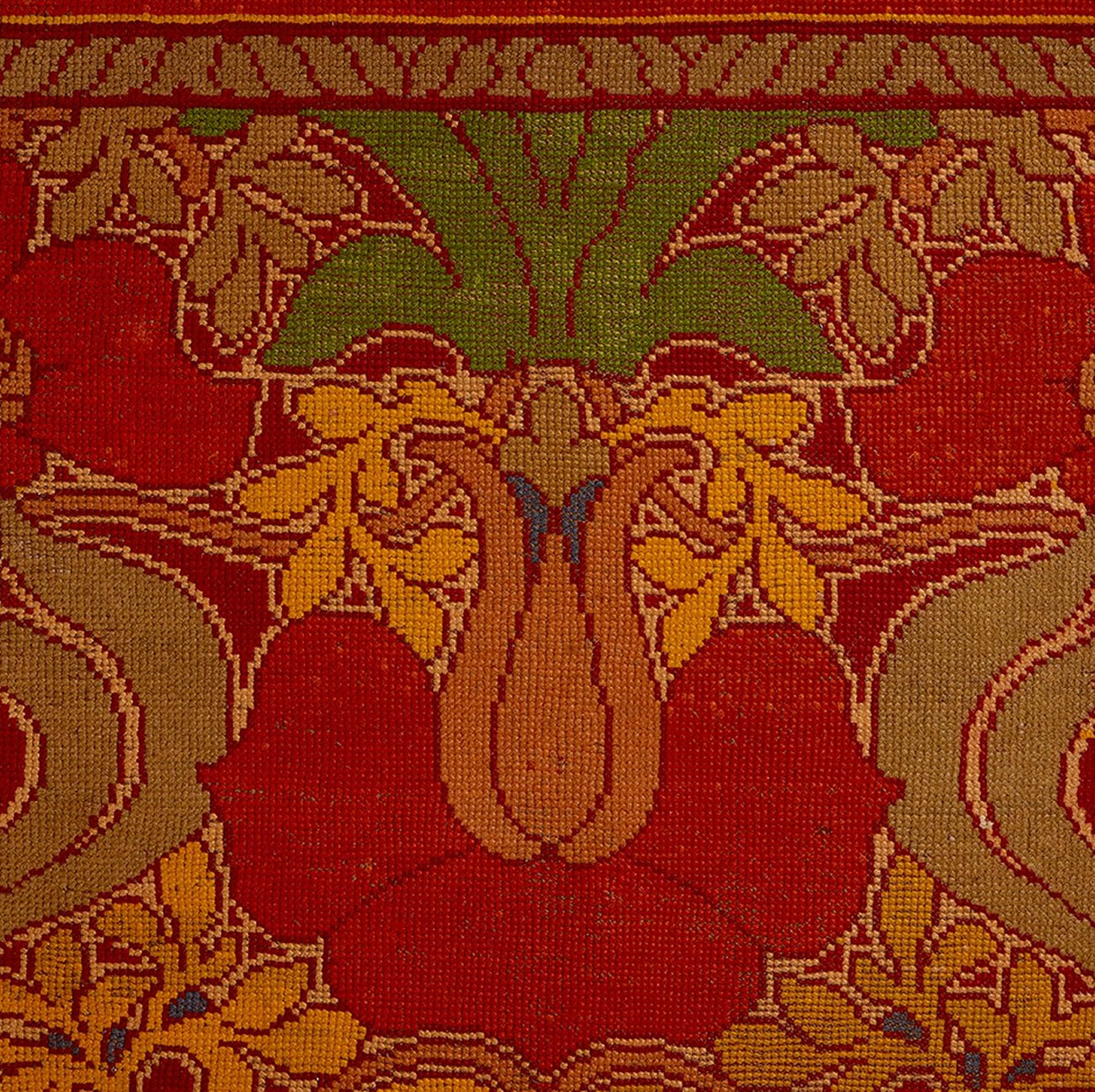 Carpet (detail) Manufactured by Alexander Morton & Co.