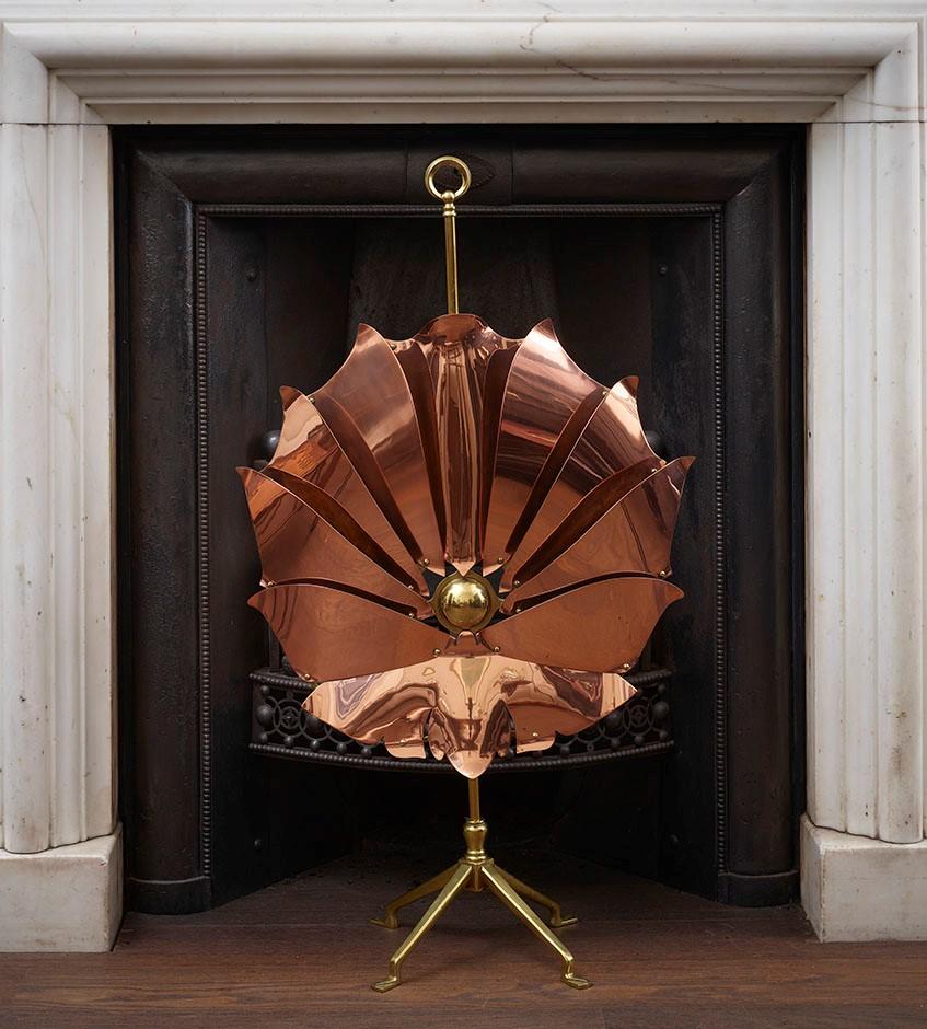 W.A.S. Benson - Copper and brass English (London), circa 1891 (date design was registered)